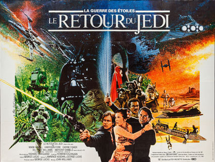 Return Of The Jedi by Richard Marquand (63 x 94 in)