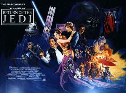 Return Of The Jedi by Richard Marquand (30 x 40 in)