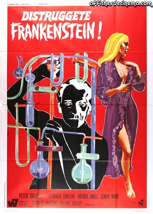 Frankenstein Must Be Destroyed by Terence Fisher ()