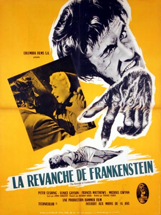 REVENGE OF FRANKENSTEIN (the)