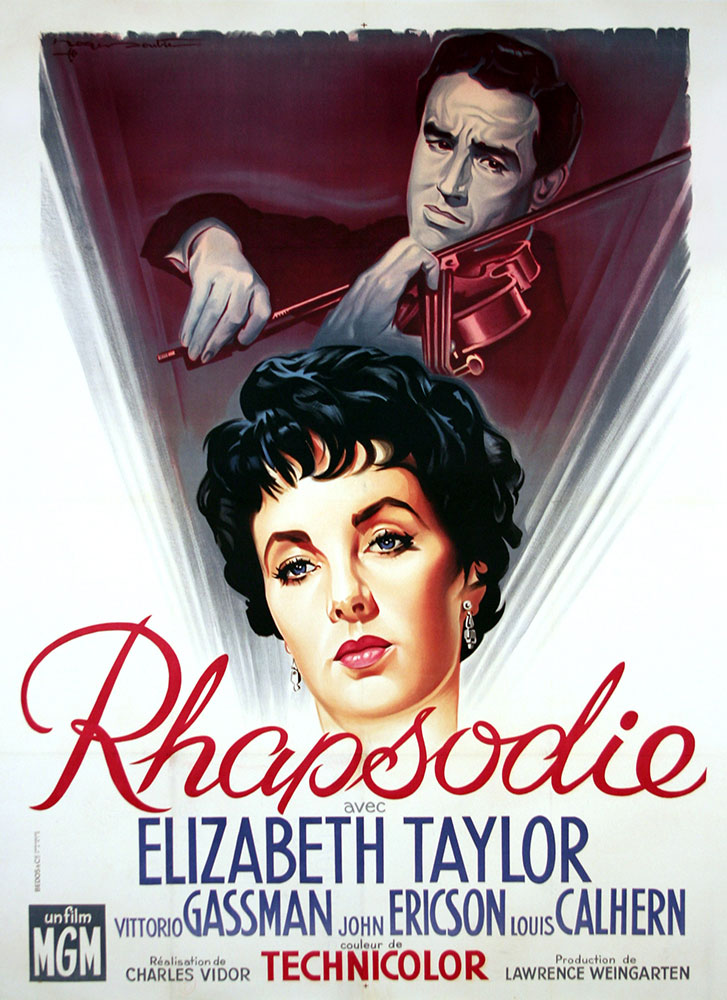 Rhapsody by Charles Vidor (47 x 63 in)