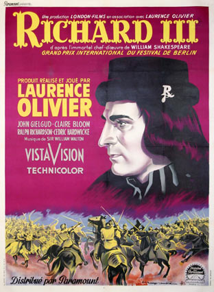 Richard Iii by Laurence Olivier (47 x 63 in)