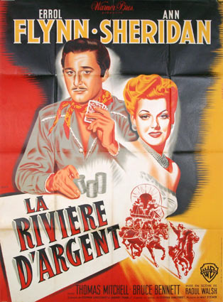 Silver River by Raoul Walsh (47 x 63 in)