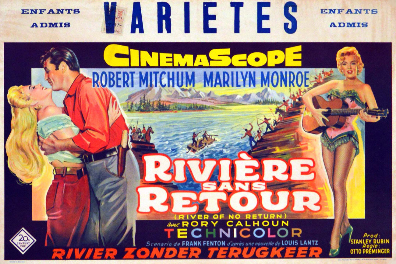 River Of No Return by Otto Preminger