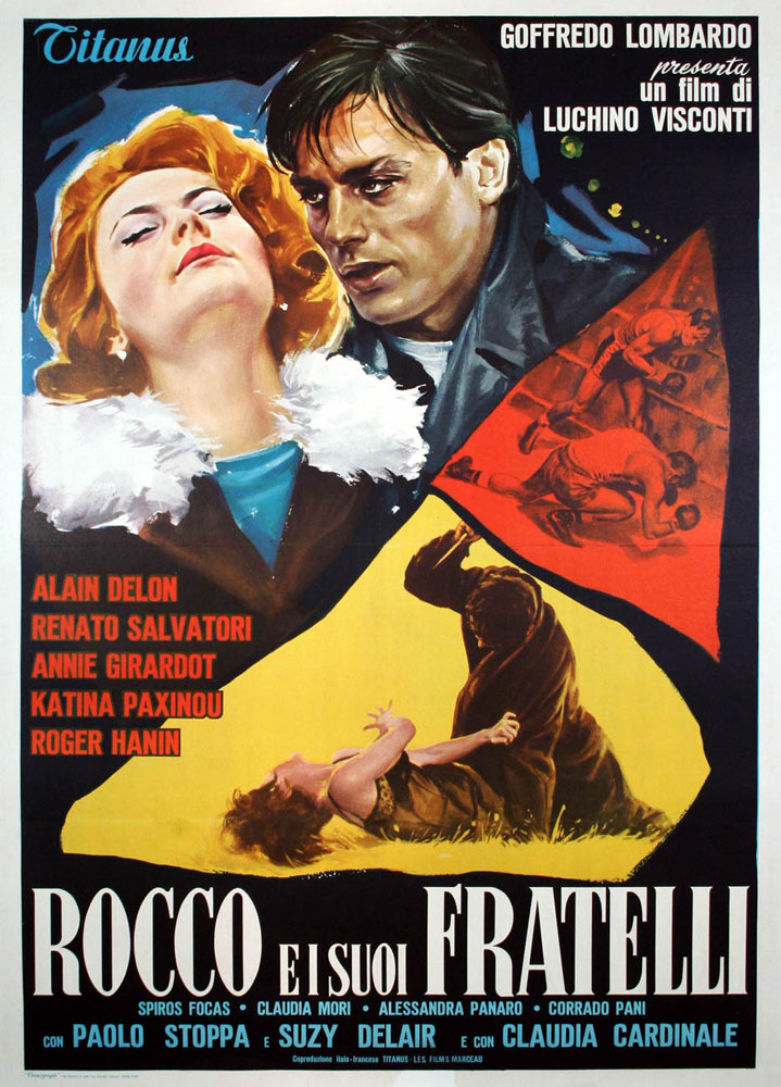 Rocco E I Su Fratelli by Luchino Visconti (39 x 55 in)