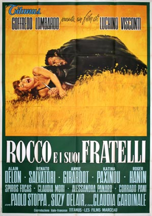 Rocco E I Su Fratelli by Luchino Visconti (55 x 78 in)