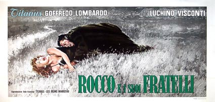 Rocco E I Su Fratelli by Luchino Visconti (55 x 110 in)