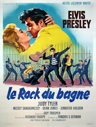 Jailhouse Rock by Richard Thorpe (47 x 63 in)