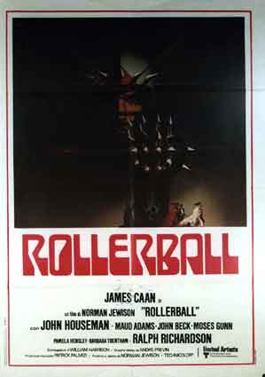 Rollerball by Norman Jewison (39 x 55 in)