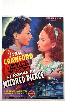 Roman De Mildred Pierce (le) par Michael Curtiz (35 x 55 cm)