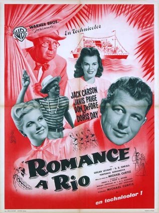 Romance In The High Seas by Michael Curtiz (23 x 33 in)
