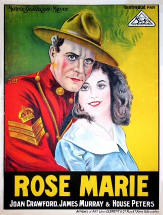 Rose Marie by Lucien Hubbard (23 x 33 in)