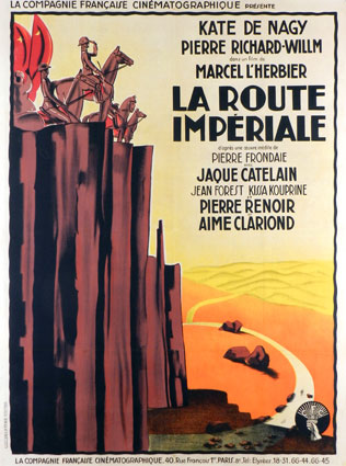 Route Imperiale (la) by Marcel L'herbier (47 x 63 in)