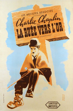 Gold Rush (the) by Charles Chaplin (47 x 63 in)