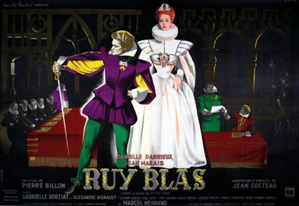 Ruy Blas by Pierre Billon (63 x 94 in)