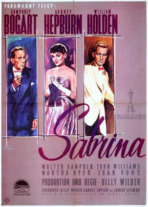 Sabrina par Billy Wilder (40 x 60 cm)