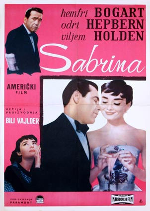 Sabrina par Billy Wilder (55 x 70 cm)