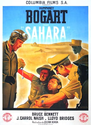 Sahara by Zoltan Korda (47 x 63 in)