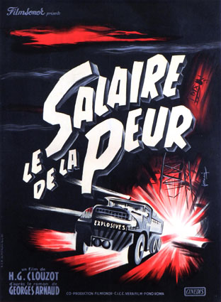 Salaire De La Peur (le) by Heri Georges Clouzot (12 x 17 in)