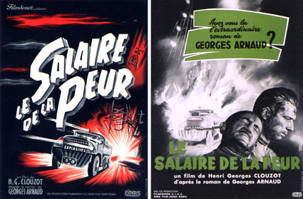Salaire De La Peur (le) (set Of 2 Posters) by Heri Georges Clouzot (12 x 17 in)