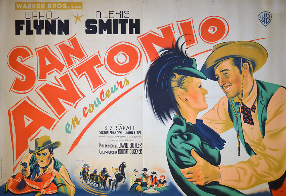 San Antonio by David Buttler (63 x 94 in)