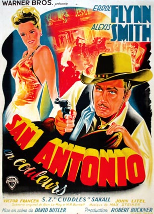 San Antonio by David Buttler (47 x 63 in)