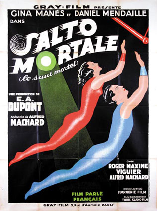 Salto Mortale by Ewald Andre Dupont (47 x 63 in)