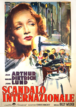 A Foreign Affair by Billy Wilder (55 x 78 in)
