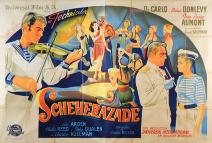 Song Of Scheherazade by Walter Reisch (63 x 94 in)