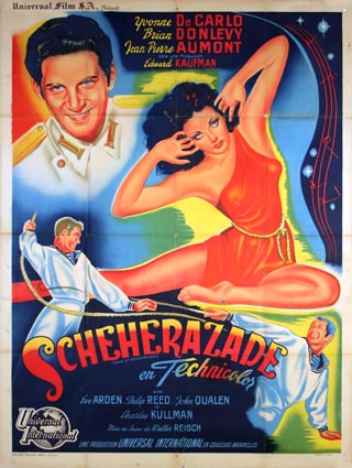 Song Of Scheherazade by Walter Reisch (47 x 63 in)