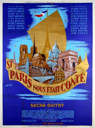 Si Paris Nous Etait Conte by Sacha Guitry