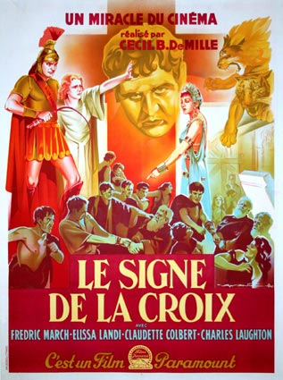 Sign Of The Cross (the) R-47 by Cecil B De Mille (47 x 63 in)