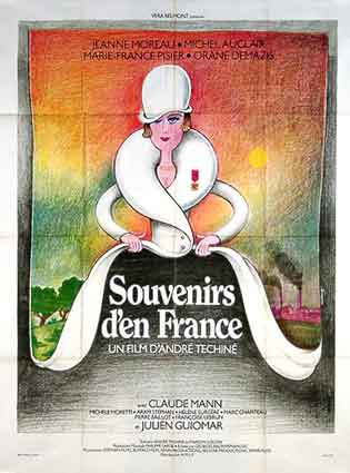 Souvenirs D'en France by Andre Techine (47 x 63 in)