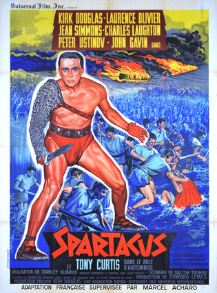 Spartacus by Stanley Kubrick (47 x 63 in)