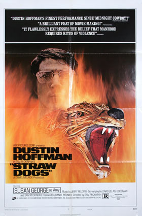 Straw Dogs by Sam Peckinpah (27 x 41 in)