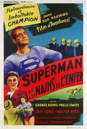 Superman And The Mole Men by Lee Sholem (33 x 47 in)