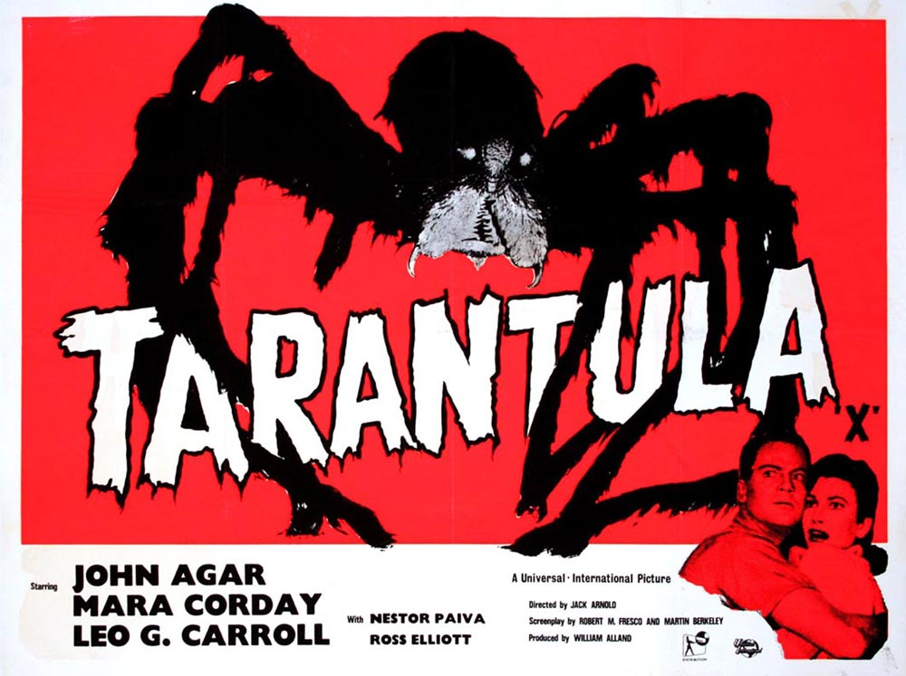 Tarantula by Jack Arnold (30 x 40 in)