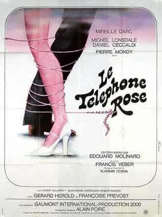 Telephone Rose (le) by Edouard Molinaro (47 x 63 in)