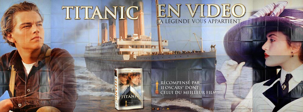 Titanic by James Cameron (94 x 236 in)