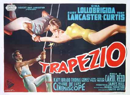 Trapeze by Carol Reed (39 x 55 in)