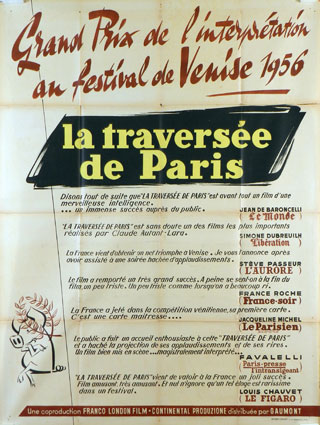 TRAVERSEE DE PARIS (LA)
