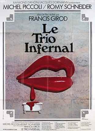 Trio Infernal (le) by Francis Girod (47 x 63 in)