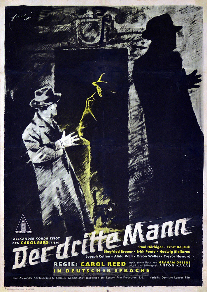 Third Man (the) by Carol Reed (23 x 33 in)