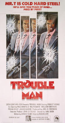 Trouble Man by Ivan Dixon (41 x 81 in)