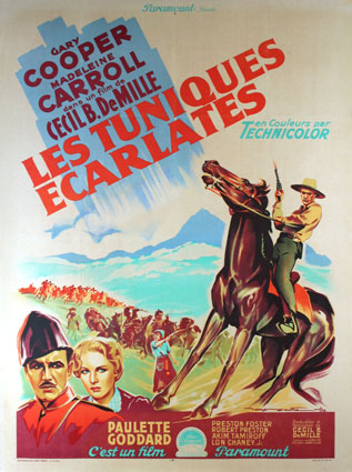 Northwest Mounted Police by Cecil B De Mille (47 x 63 in)