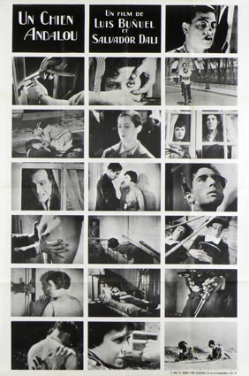 Un Chien Andalou by Luis Bunuel (33 x 47 in)