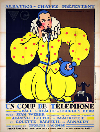 Un Coup De Telephone by Georges Lacombe ()