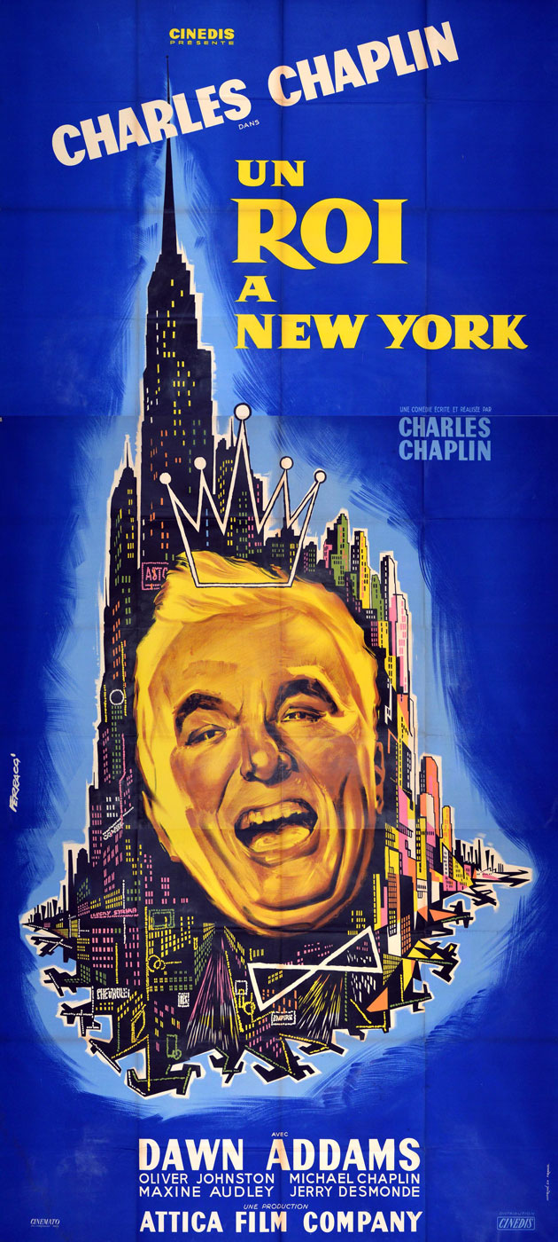 A King In New York by Charles Chaplin