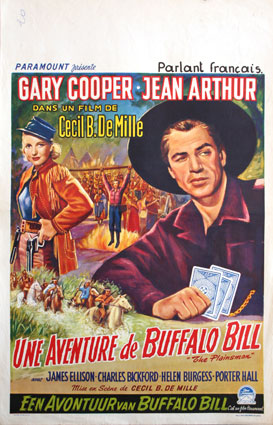 Plainsman (the) by Cecil B De Mille (14 x 22 in)