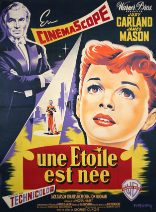 A Star Is Born by George Cukor (47 x 63 in)